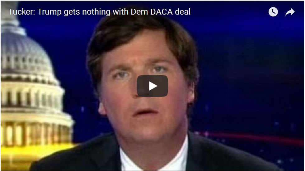 DEMOCRATS CAN'T BE TRUSTED ON DACA