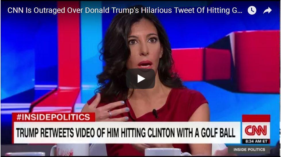CNN OUTRAGED OVER HILARIOUS TWEET