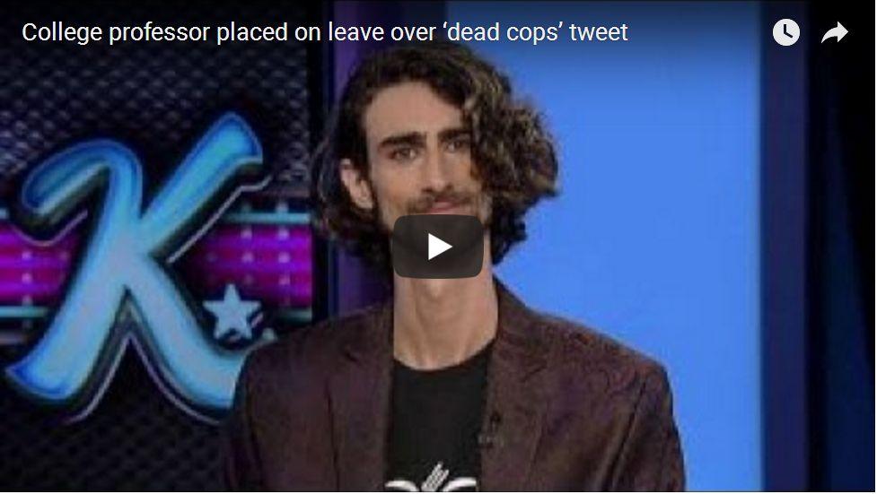 PROF SUSPENDED OVER 'DEAD COP' TWEET