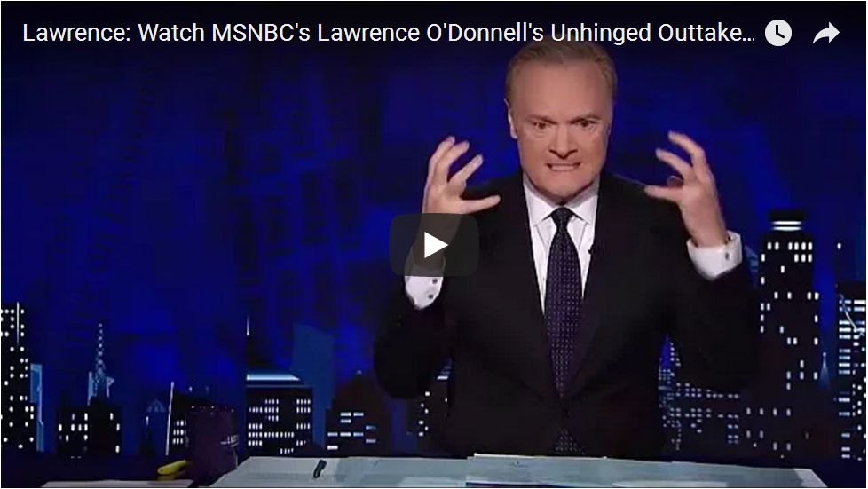 O'DONNELL SUFFERS TOTAL MELTDOWN ON SET