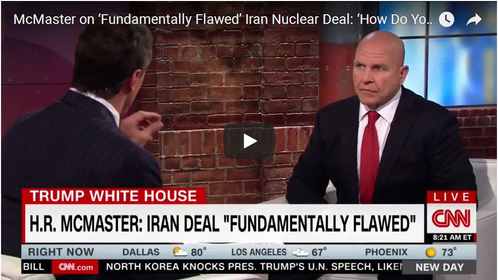 'PRESIDENT HAS MADE DECISION ON IRAN'