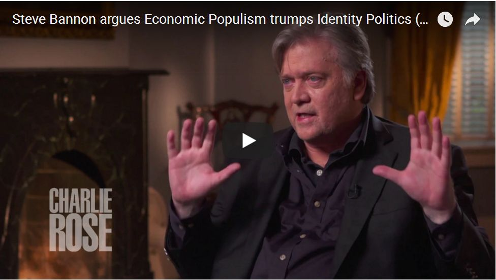 Bannon: Identity Politics Will Kill Democrats…