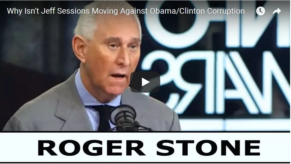 ROGER STONE ON CLINTON RUSSIA SCANDAL