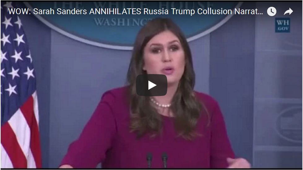 SANDERS DESTROYS RUSSIAN WITCH HUNT