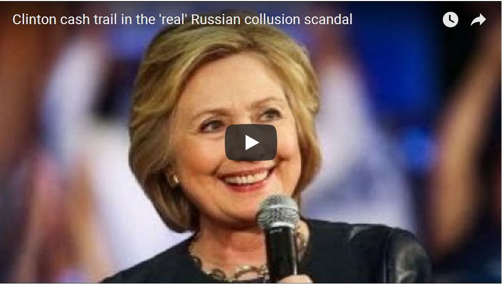 Tucker With Peter Schweizer: Clinton Foundation BRIBERY Is The Real Russian Collusion…