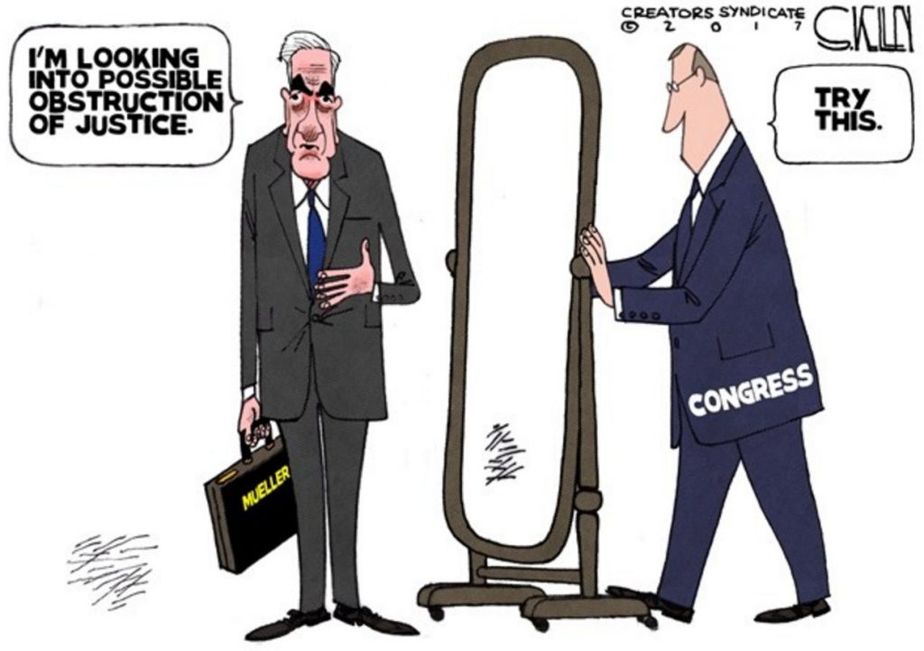 MUELLER FINISHED, REPORT DUE NEXT WEEK…