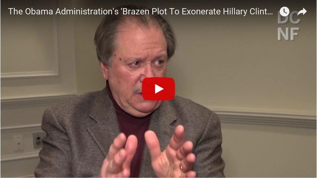 DiGenova Exposes 'Obama's Brazen Plot To Exonerate Hillary And Destroy Trump'