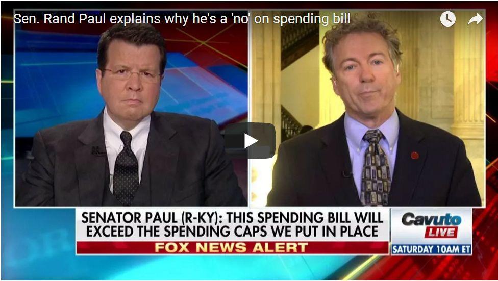 Rand Paul: 'Shut It Down! We Don't Have A Revenue Problem, We Have A Spending Problem'…