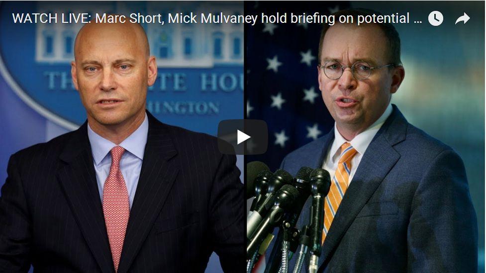 EXCELLENT Mulvaney White House Presser…