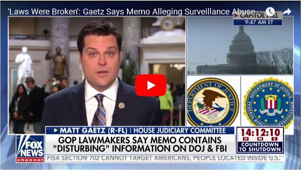 'HEADS WILL ROLL AT DOJ AND FBI'…