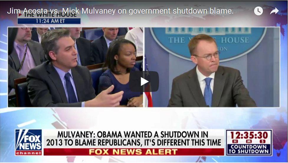 Mulvaney WRECKS Fake News Jim Acosta…