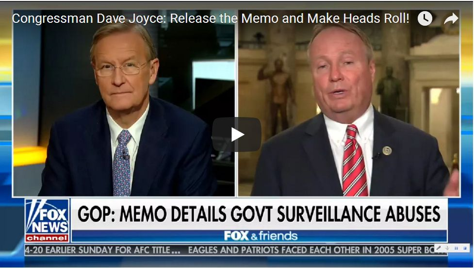Congressman Dave Joyce: 'We Can Find The Lost FBI Texts'