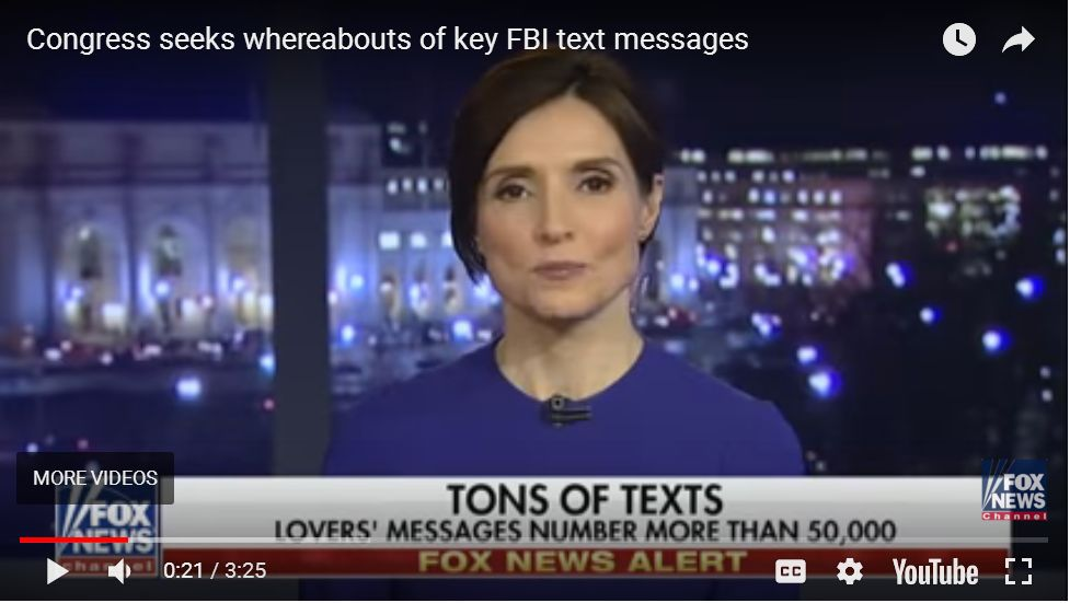 Catherine Herridge: Lastest Update On Missing FBI Texts, Comments From Jeff Sessions