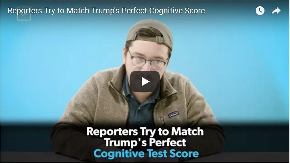 HILARIOUS: Liberal Reporters Take The Same Cognitive Test As Trump, And Fail Miserably!