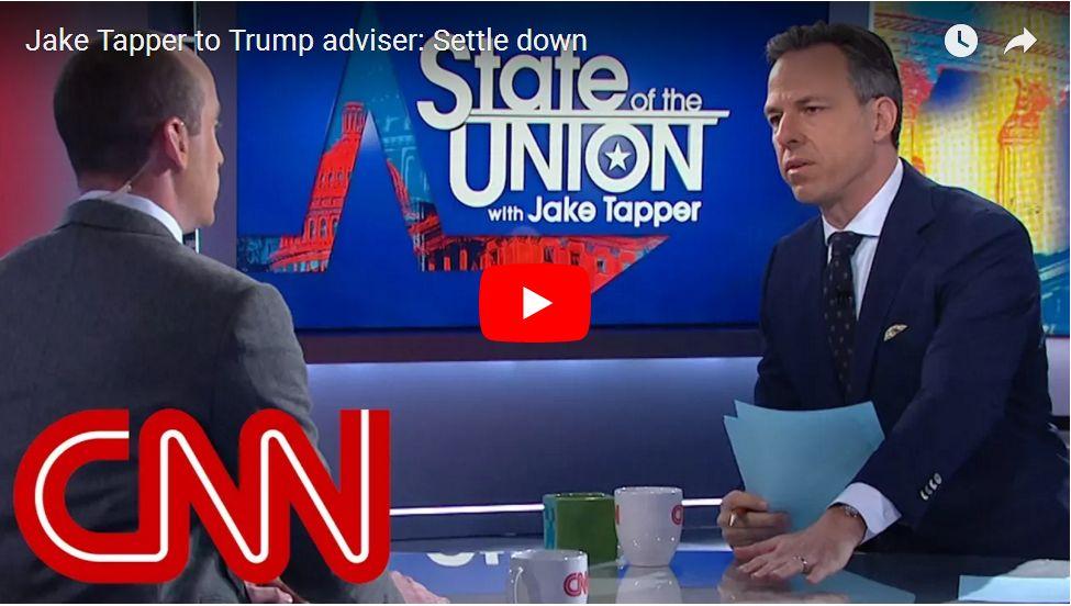 Stephen Miller Battles Jake Tapper In Spectacular Political Throwdown – Tapper Ends Interview…