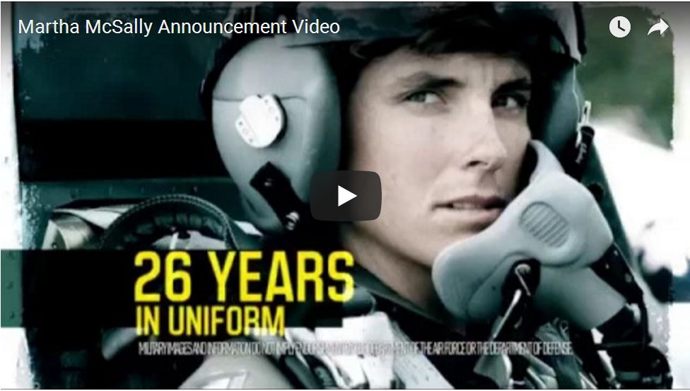 Nation's First Female Combat Pilot Martha McSally Announces Arizona Senate Run…