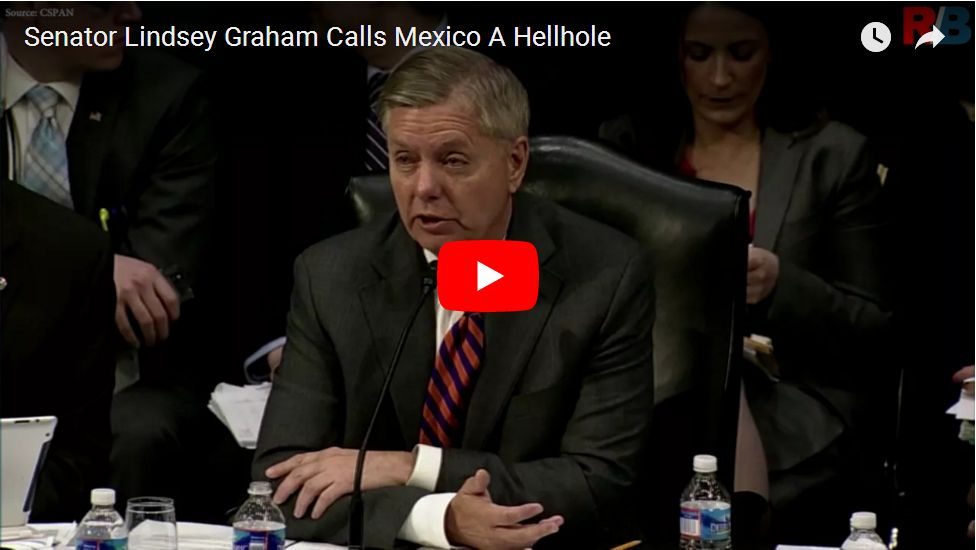 HELLHOLE: LINDSEY GRAHAM IS SO BUSTED…