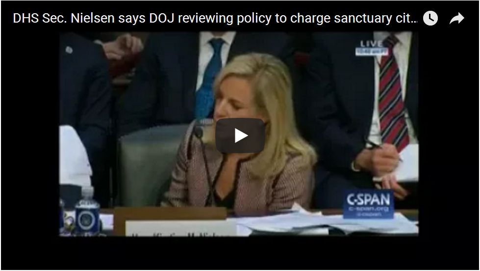 DHS Chief Tells Kamala Harris: 'We Are Looking At Criminal Charges Against Elected Officials'