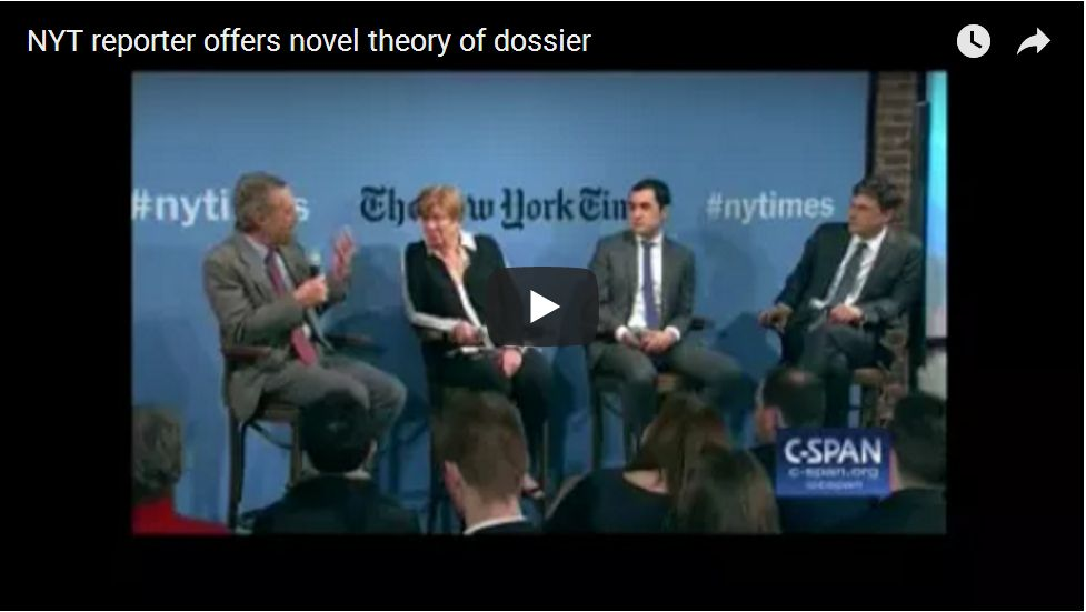 NYT Reporter Proposes 'Convenient' New Theory On Hillary Clinton Dossier…