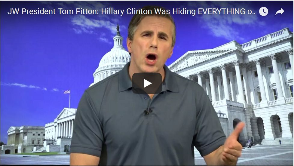 Tom Fitton: Why Hillary's Deleted Emails Matter…