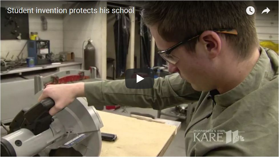 Teen Invents Device To Stop School Shooters…