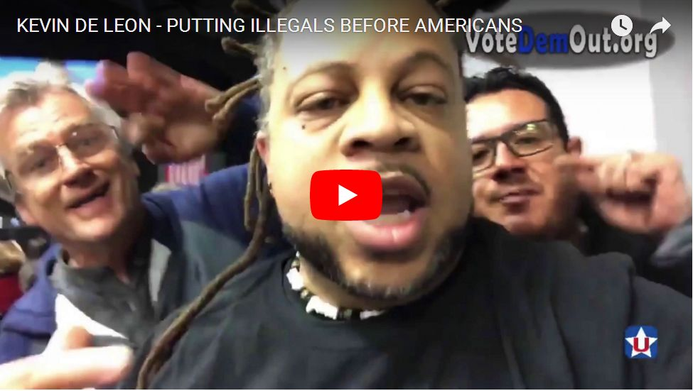 AWESOME CLIP: Patriot Organizer Crashes Liberal Event For Illegal Aliens, Total Chaos Ensues…