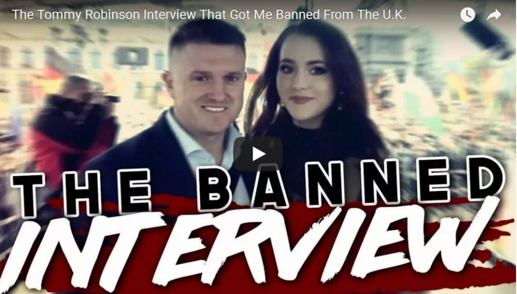 Tommy Robinson Tells A VERY Interesting Muslim Story From His Time In London Jail…