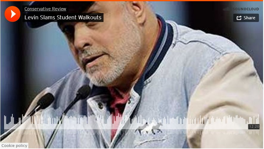 Mark Levin Goes Off…