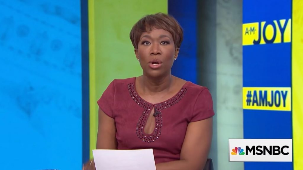 Joy Reid's Racial Test – 'Democrats Absolutely Can NOT Run Two White Guys In 2020'…