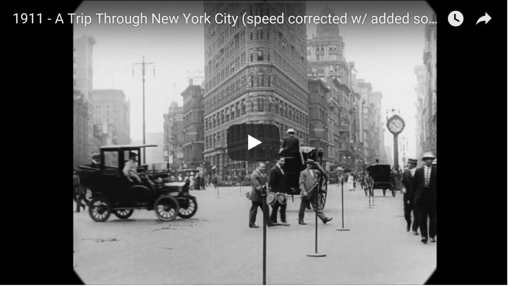 Rare Footage: A Trip Through New York City In 1911