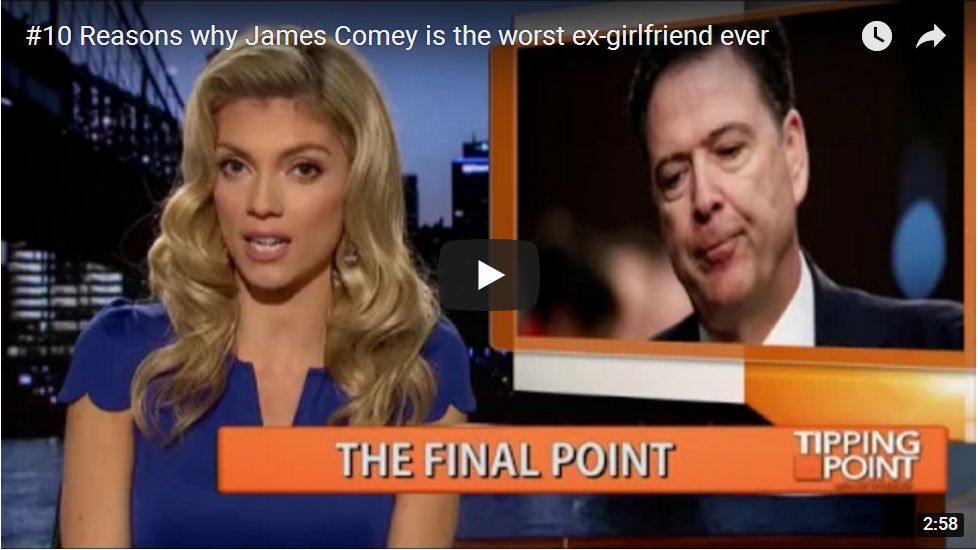 10 Reasons Comey Is The Worst Ex-Girlfriend Ever