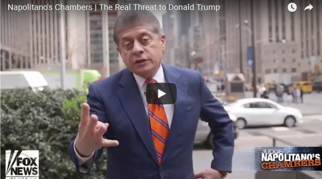 Judge Nap: The Real Threat To President Trump…