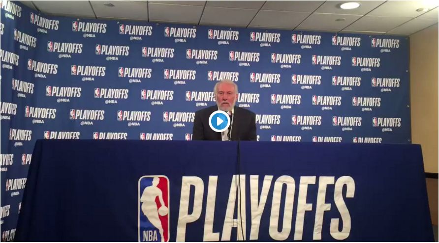 Popovich In The HOT SEAT For Trump Comments…