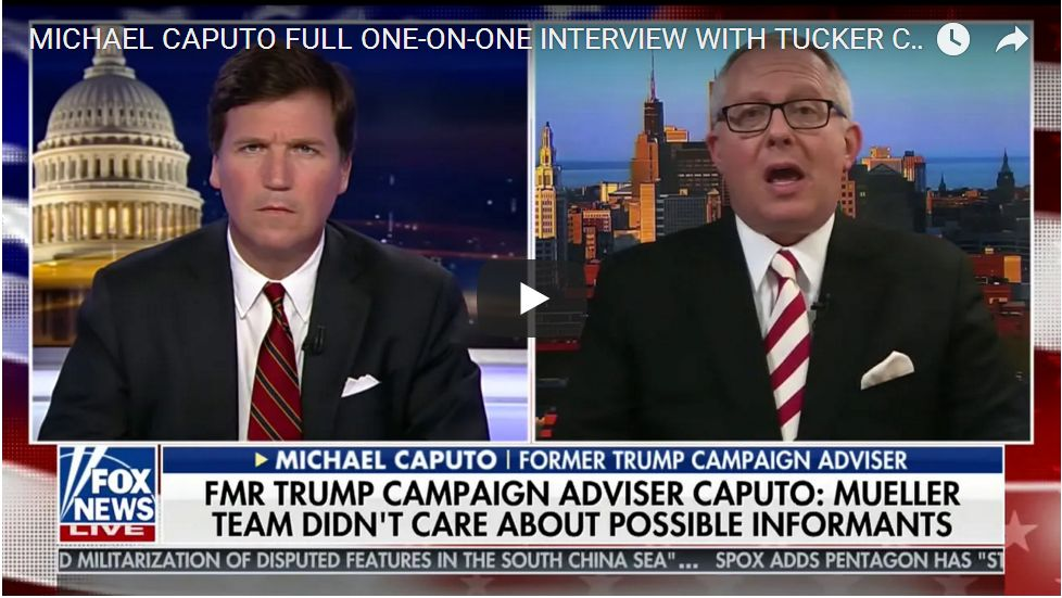 Michael Caputo Clairifies FBI Entrapment Attempt: The Full Story Has Not Been Told