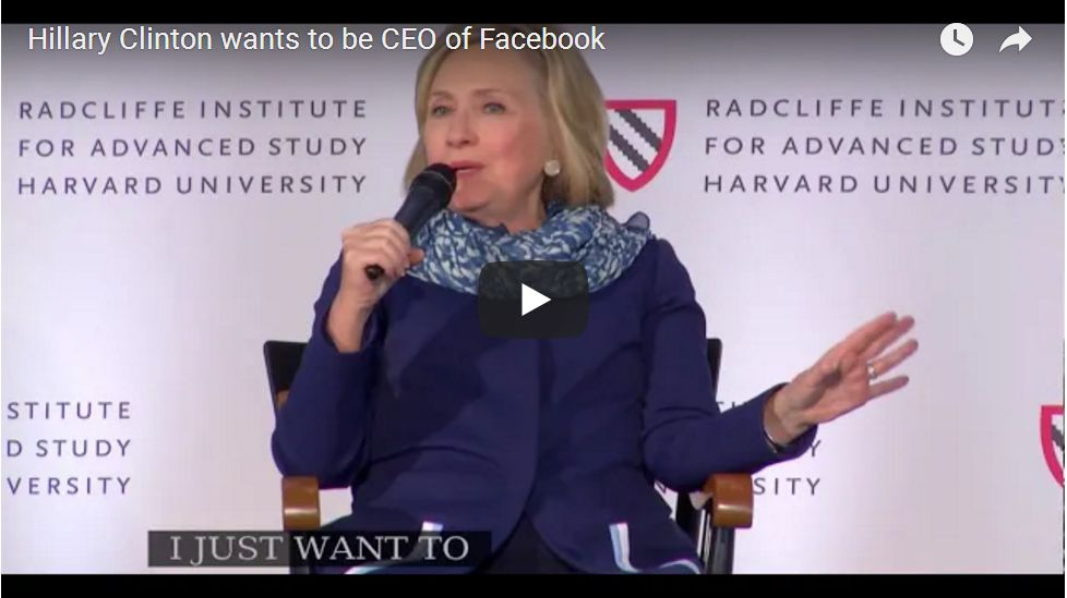 'I Want To Be Facebook CEO'