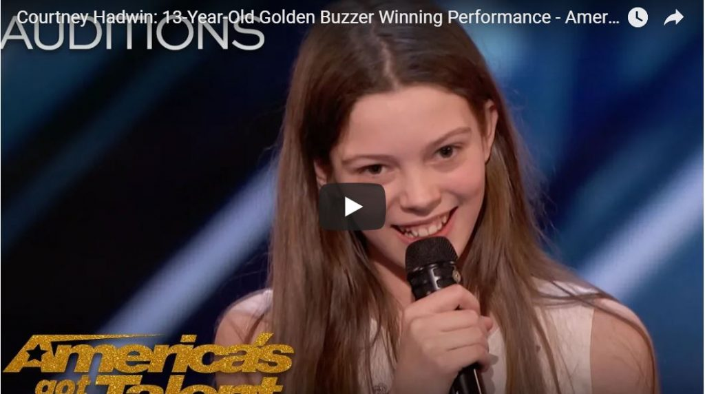 Holy Smokes, This Young Girl Can SING!