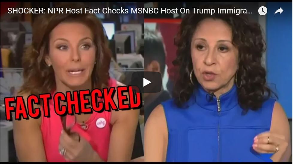 Crying MSNBC Host Gets Fact Checked On Obama!