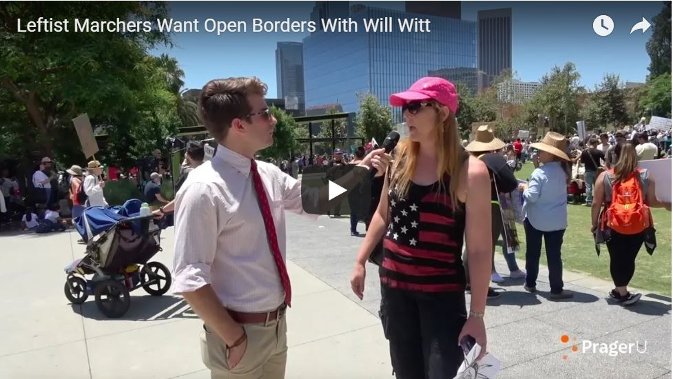 HILARIOUS: Open Borders Communists On Display