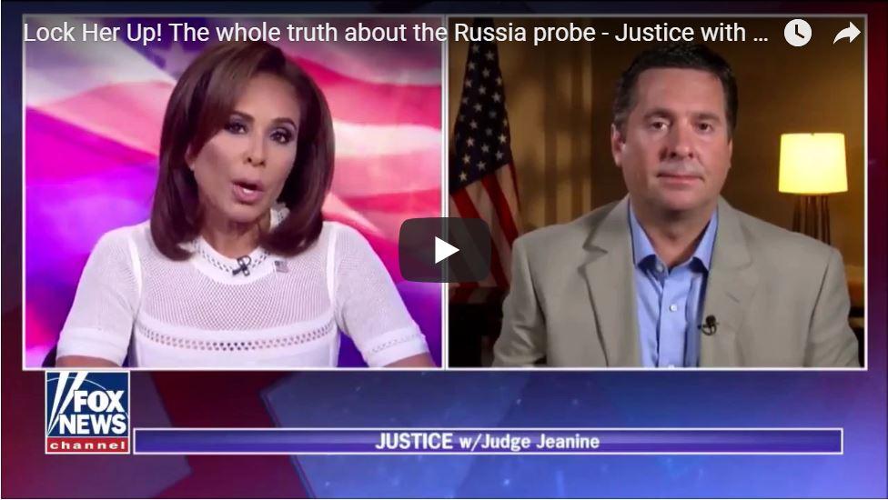 Devin Nunes: SpyGate Heats Up, Evidence Behind FISA Warrant Was 'Fraudulent'…