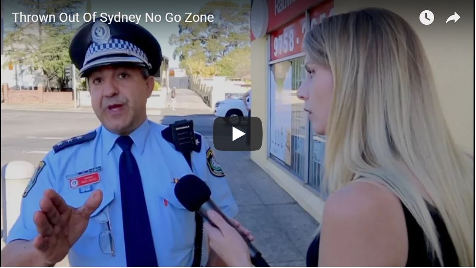 SHARIA WINS: Lauren Southern Thrown Out Of Sydney No Go Zone… By Police Captain