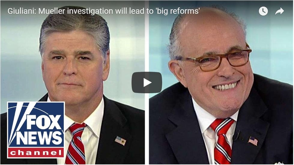 Giuliani: 'Case Is Going To Blow Up On Mueller!'