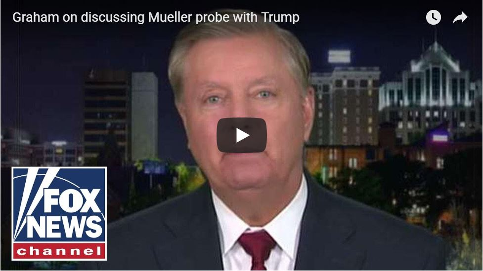 GRAHAM: Why Didn't The FBI Do For Trump What They Did For Dianne Feinstein?