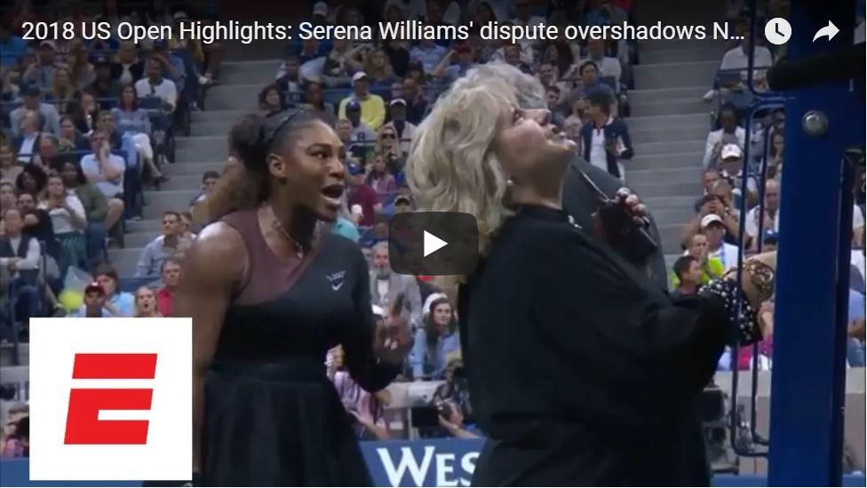 Serena's US Open Meltdown…