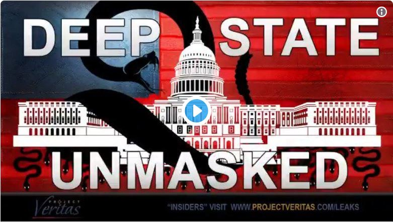 Deep State Unmasked: James O'Keefe Releases New Video… Anti-Trump Activism At State Dept