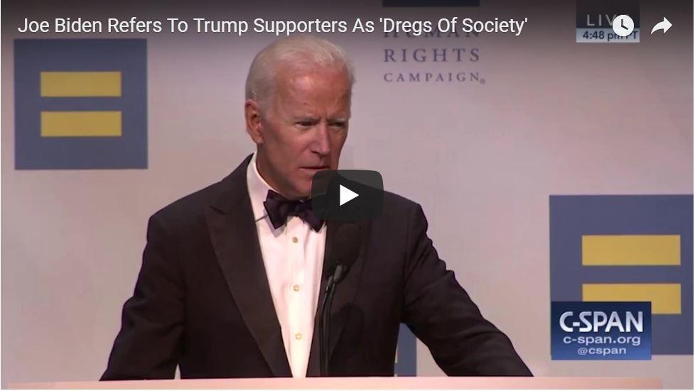 Creepy Joe Biden Should Have Kept His Mouth Shut…