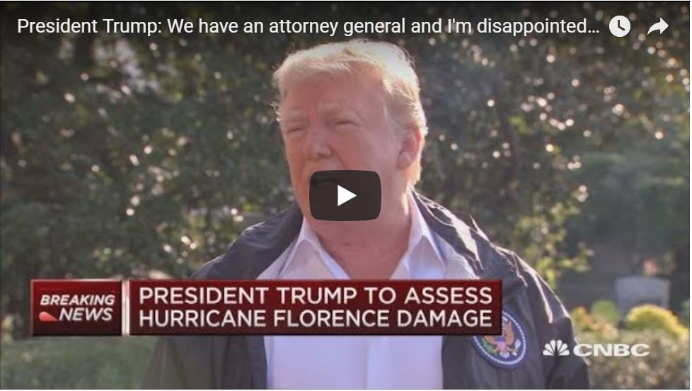 Trump BLASTS: 'I Don't Have An Attorney General'