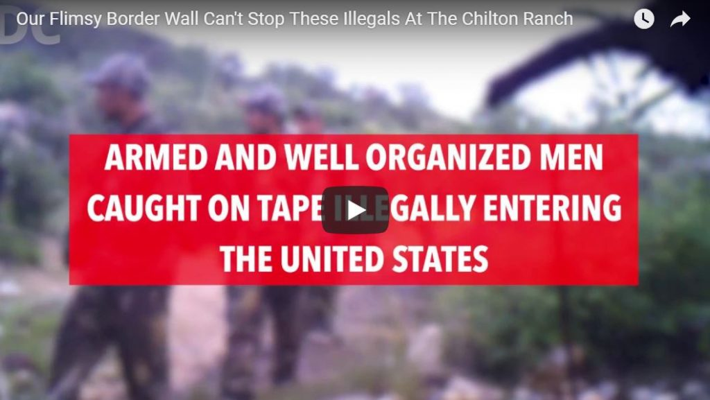 Heavily Armed Individuals Caught On Camera Entering USA Illegally Through AZ Ranch…