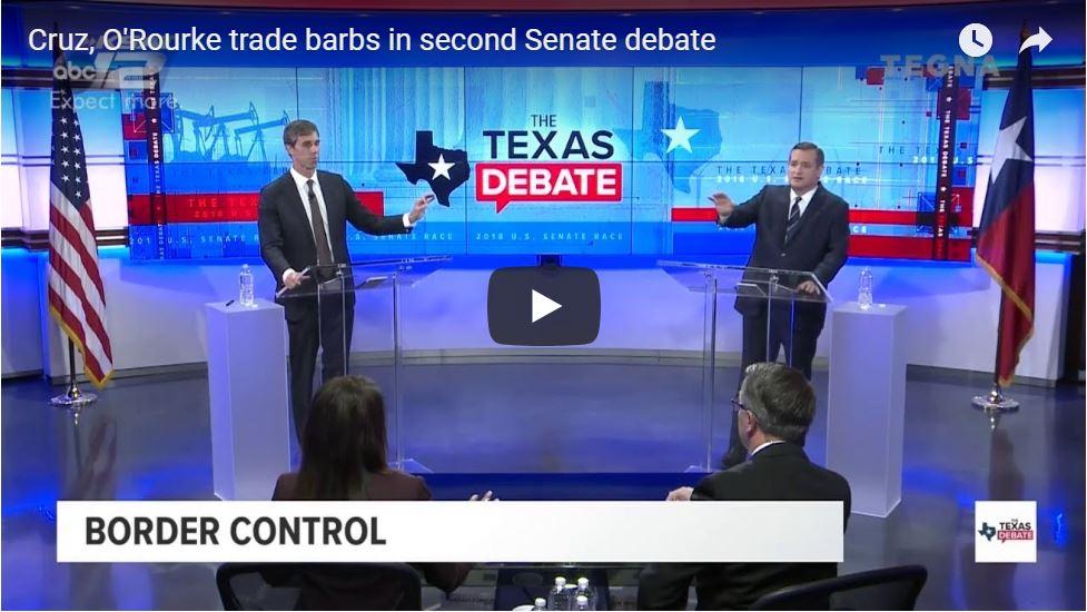 Ted Cruz Debate Highlights … Pummels 'Sweaty' Beto In Final Texas Senate Debate