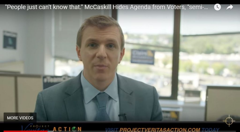 O'Keefe Strikes Again … Claire McCaskill Exposed