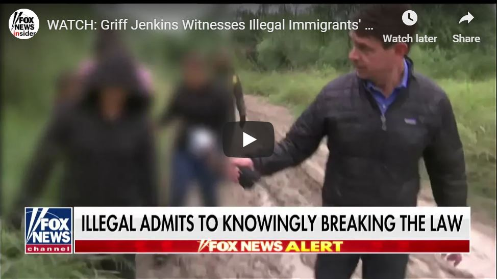 Fox News Reporter BUSTS Illegals Trying To Cross Texas Border … Caught On Tape